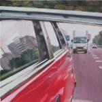 Carview # 4, 2006, acryl op linnen, 60 x 60 cm. Verkocht.