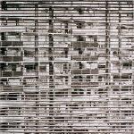 Galerijen in noord # 1, 2004, Oost Indische inkt op zuurvrij papier,1.50 x 1.50 m. Verkocht.