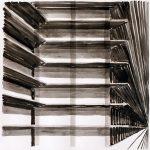 Galerijen, 2003, Oost Indische inkt op zuurvrij papier, 35 x 35 cm.
