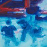 Buiten zicht # 2, 2012, acryl op linnen, 50 x 50 cm.